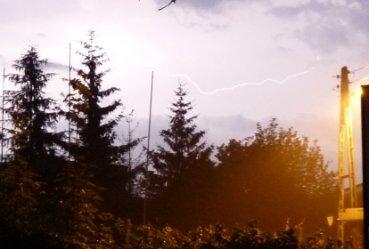 W Gorzkowicach spodziewają się burz, gradu i trąby powietrznej