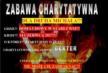 Przyjdź i wesprzyj Michała Krawczyka