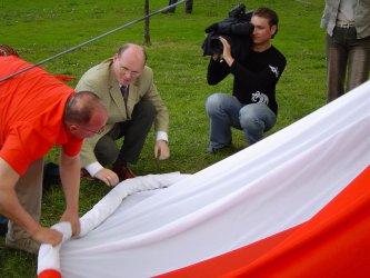 Piotrków 2004. To dopiero była flaga!