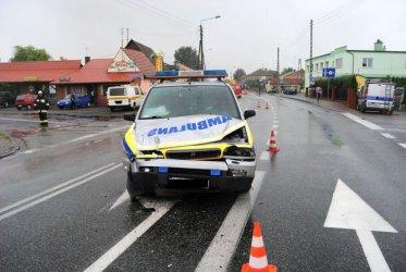 Region: Skoda zderzyła się z ambulansem