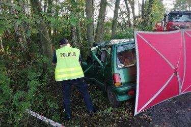 Tragiczny wypadek. Nie żyje 23-letni kierowca