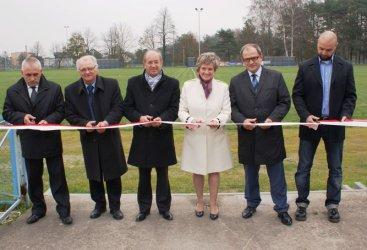 """Stadion T.S. """"Szczerbiec"""" już otwarty"""