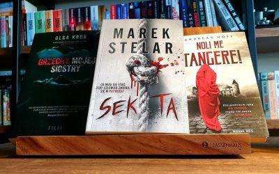Książka na weekend - trzy propozycje trzymające w napięciu