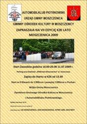 VII edycja KZK Moszczenica 2009