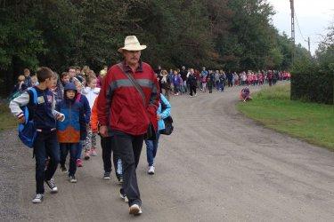 Kilkaset osób wzięło udział w Rajdzie prażonego ziemniaka