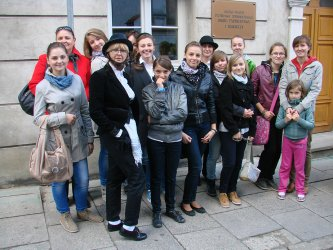 Uczniowie z regionu wzięli udział w Mazel Tov