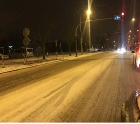 Zima zaskoczyła piotrkowskich kierowców?