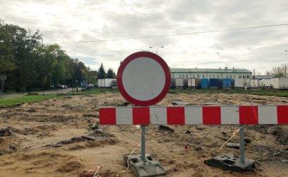 Trwa remont pętli autobusowej przy Dworskiej