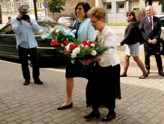 Ambasador Izraela z wizytą w Piotrkowie Trybunalskim