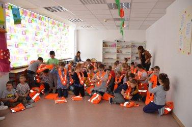 Dzieci z Piotrkowa obdarowane przez GDDKiA