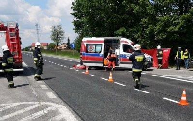 Śmiertelny wypadek w Kruszowie. Nie żyje rowerzysta [AKTUALIZACJA]