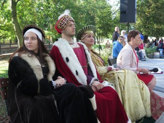 Piknik z okazji 500-lecia piotrkowskiego zamku królewskiego to była wspaniała lekcja historii