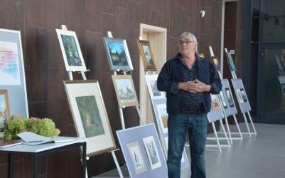 Wystawa malarstwa Grzegorza Woźnickiego w Mediatece