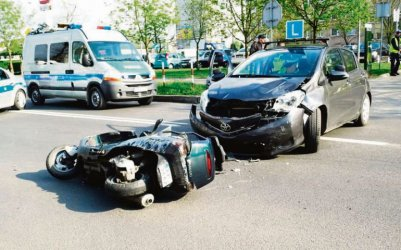 Niebezpieczne zdarzenia na egzaminach również w Piotrkowie