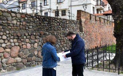 Dawne mury obronne doczekają się remontu