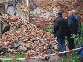 Przy Pereca doszło do katastrofy budowlanej