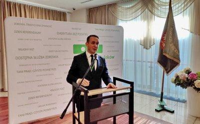 Dariusz Klimczak nadal liderem PSL w Łódzkiem