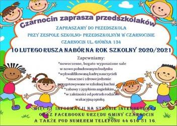 Gmina Czarnocin zaprasza maluchy