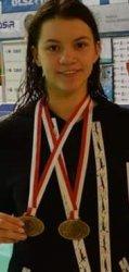 Siedem medali - i rekord Polski - Wiktorii Guść podczas międzynarodowego wielomeczu
