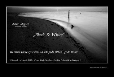 Wystwa fotografii czarno-białej Artura Stępnia