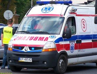 Wypadek na Armii Krajowej – ciężarna kobieta w szpitalu