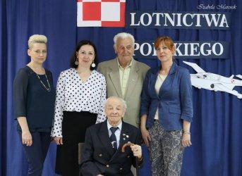 Major pilot John Benett skończył 100 lat!
