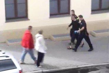 Podejrzany o pobicie złapany na dworcu