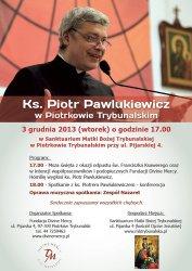 Ks. Piotr Pawlukiewicz w Piotrkowie