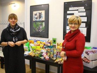Dary z OEA MOK dla Fundacji Miasto Kotów