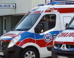 Dwuletnia dziewczynka wypadła z okna