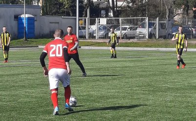 Grad goli w lidze piłkarzy-amatorów