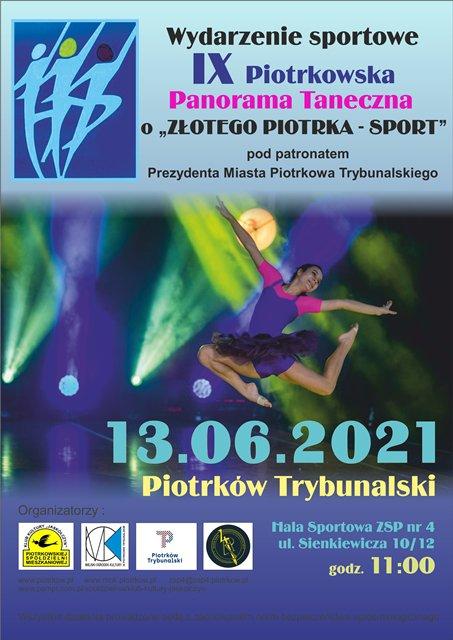 IX Piotrkowska Panorama Taneczna o
