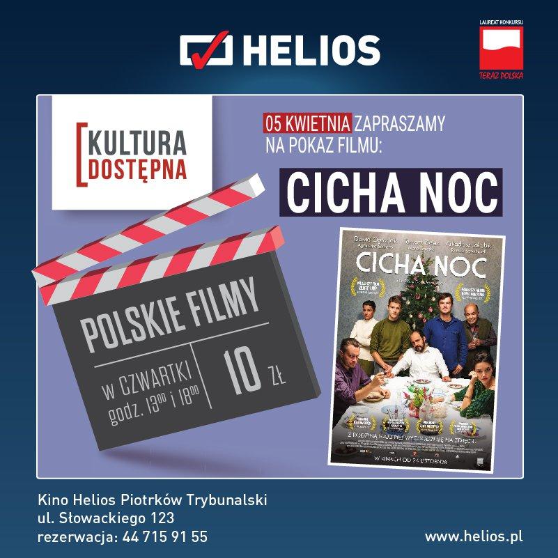 Cicha noc - Kultura Dostępna w kinie Helios