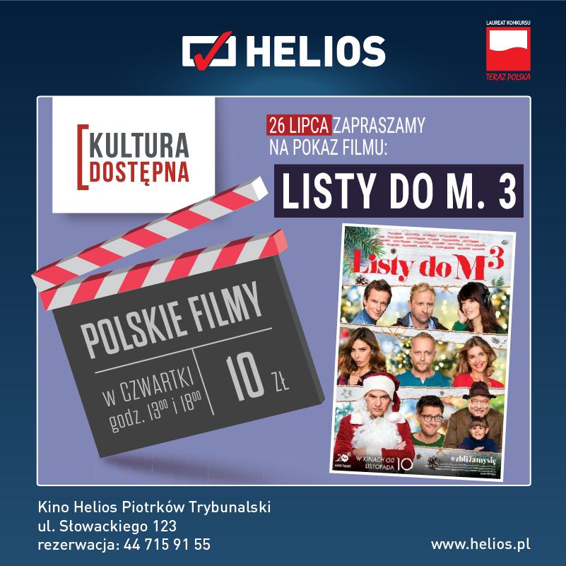 Listy do M. 3 - Kultura Dostępna w kinie Helios
