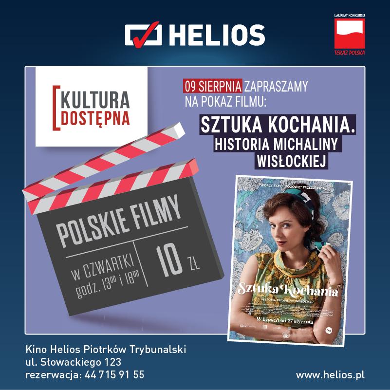 Sztuka kochania. Historia Michaliny Wisłockiej - Kultura Dostępna w kinie Helios