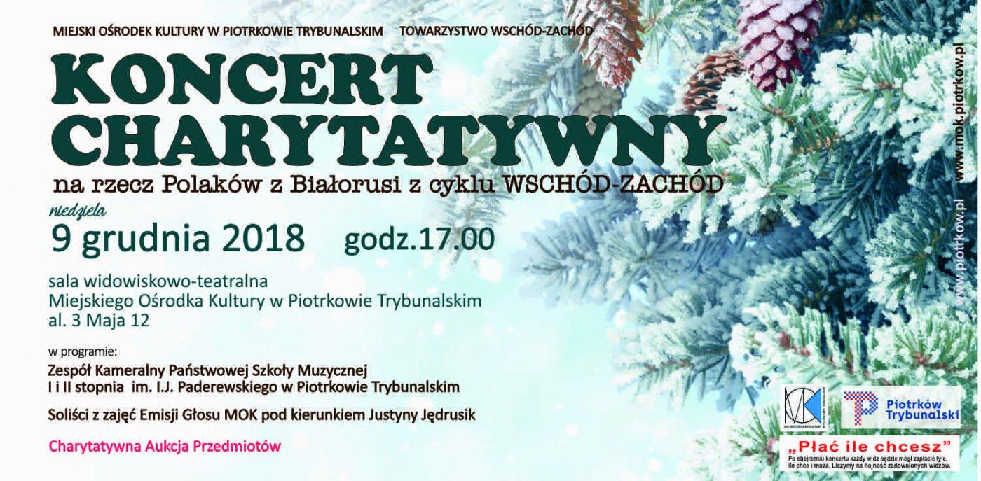 Koncert charytatywny na rzecz Polaków z Białorusi z cyklu