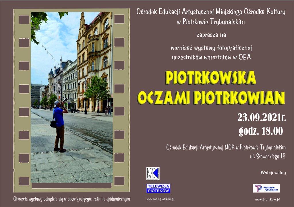 Piotrkowska oczami piotrkowian w OEA MOK