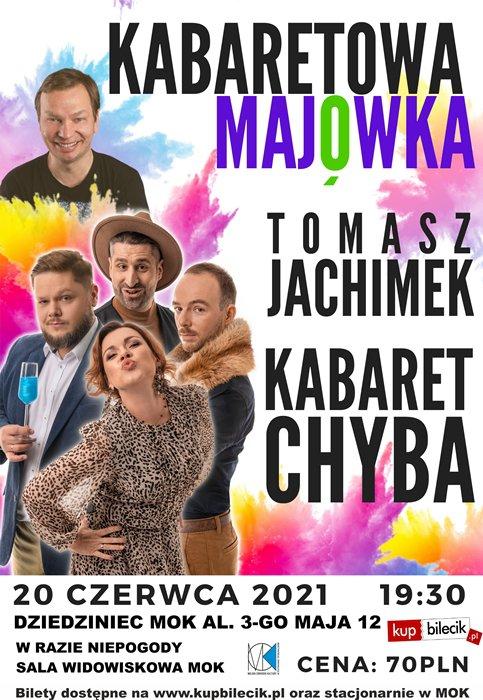 Kabaret CHYBA w programie