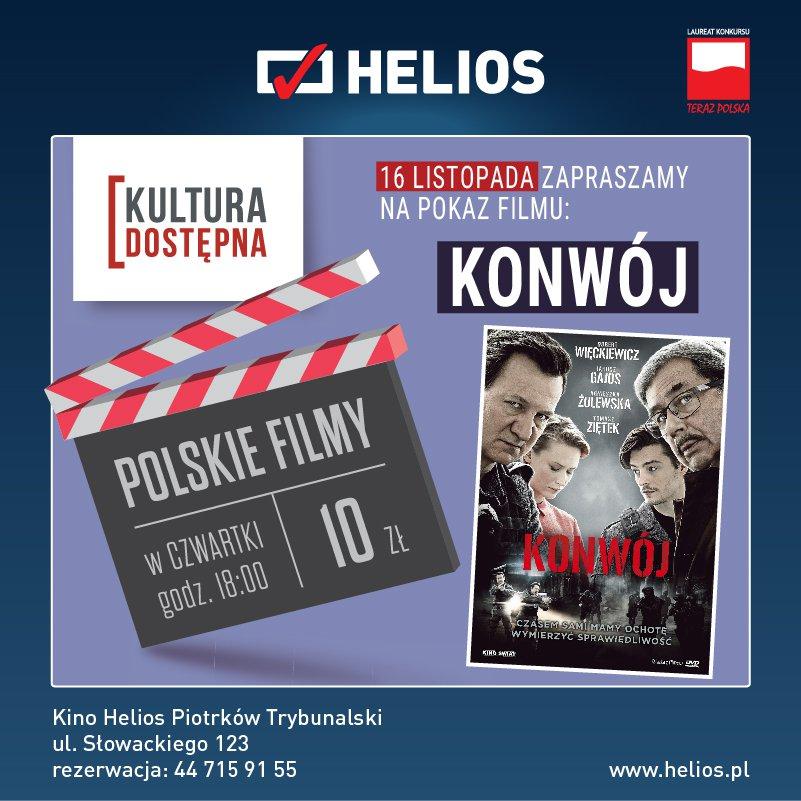 Konwój - Kultura Dostępna w kinie Helios