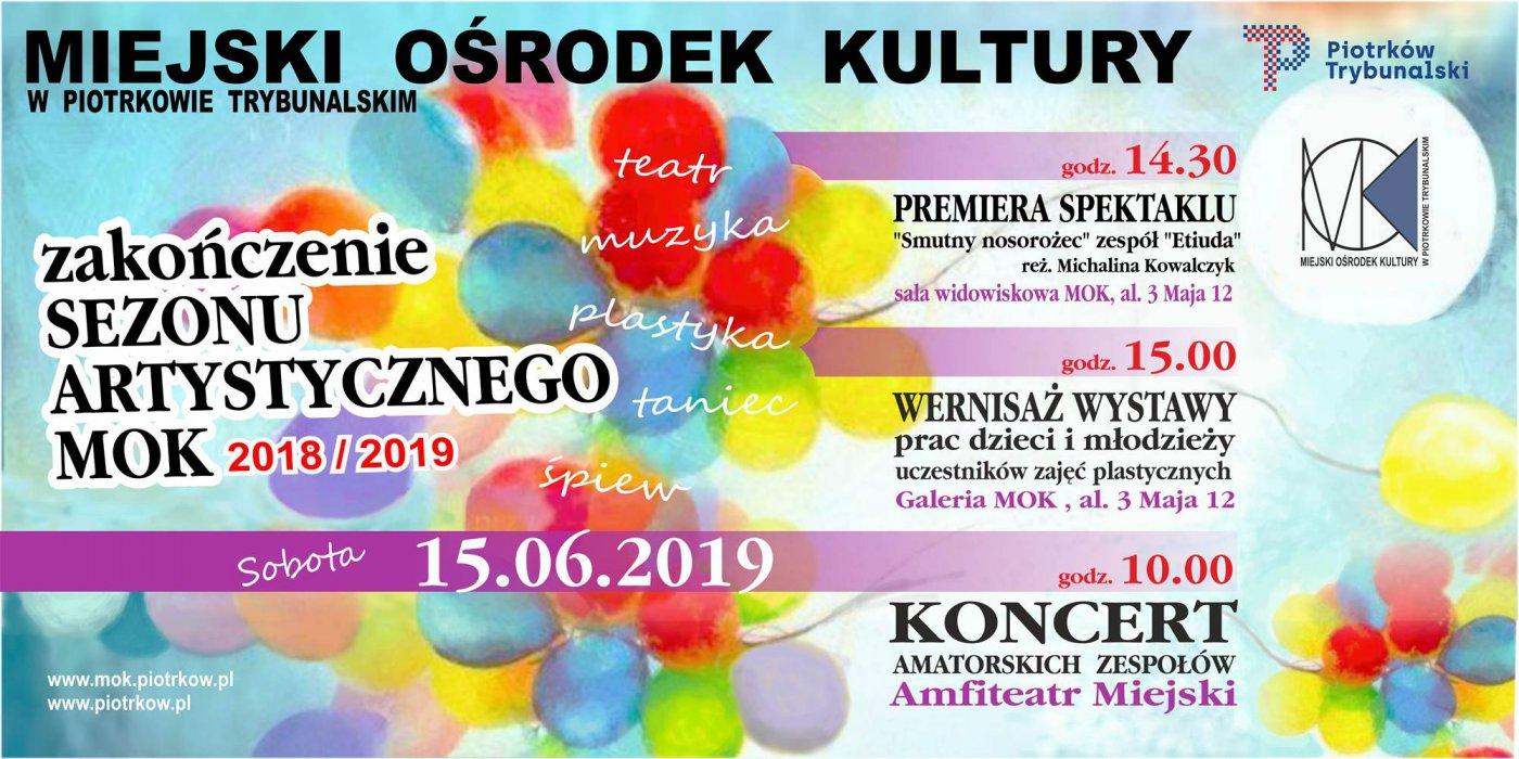Zakończenie sezonu artystycznego MOK 2018/2019