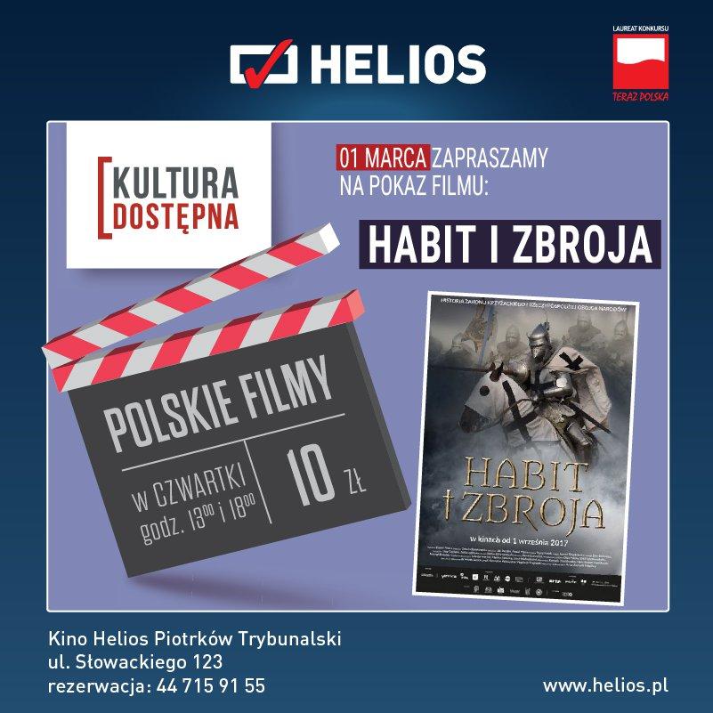 Habit i zbroja - Kultura Dostępna w kinie Helios