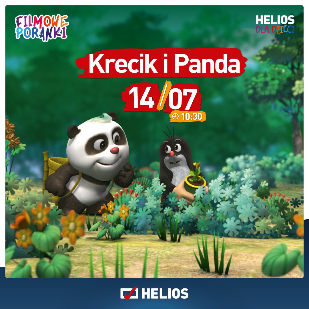 Filmowe Poranki - Krecik i Panda część 3