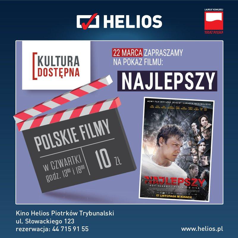 Najlepszy - Kultura Dostępna w kinie Helios