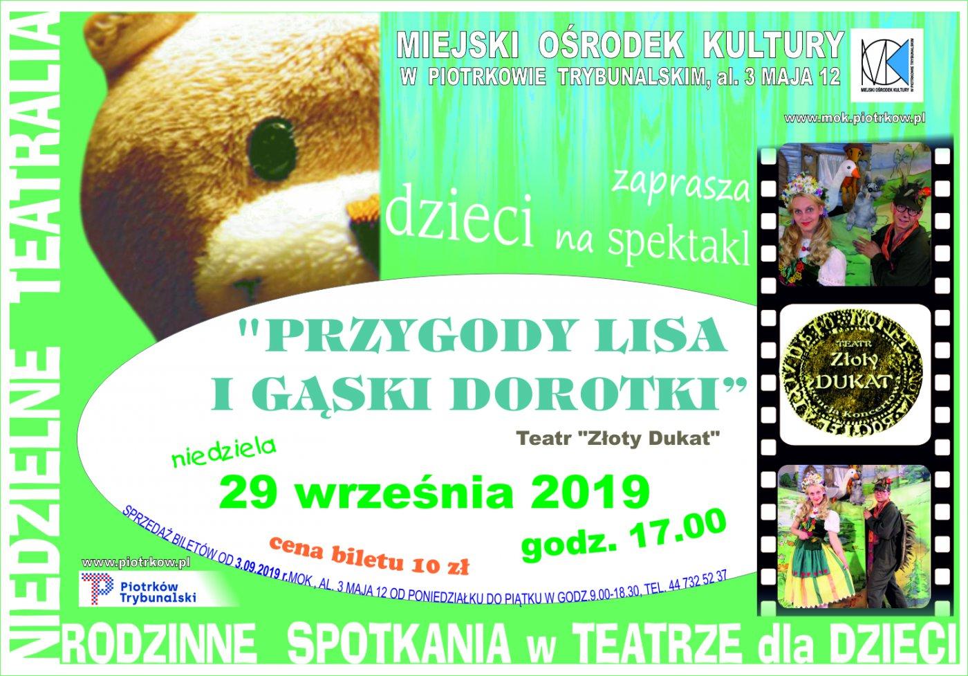 Spektakl pt.: