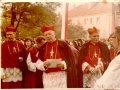 7 lipca 1974 toku do piotrkowskiej parafii przybyli z wizytą prymas Stefana Wyszyński i kardynał Karol Wojtyła.