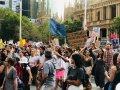 Protest w Sydney przeciwko zmianom klimatu (fot. J. Biegańska)