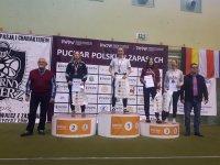 Aleksandra Skudlara ze srebrem w kat. do 53 kg / fot.: AKS Piotrków