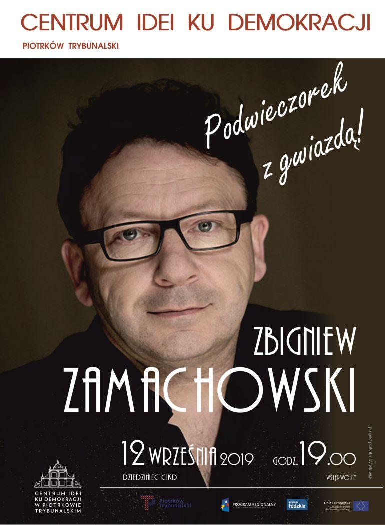 Zbigniew Zamachowski spotka się z piotrkowianami