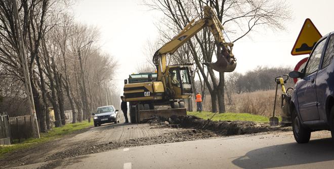 Rozpoczął się remont ulicy Wierzejskiej