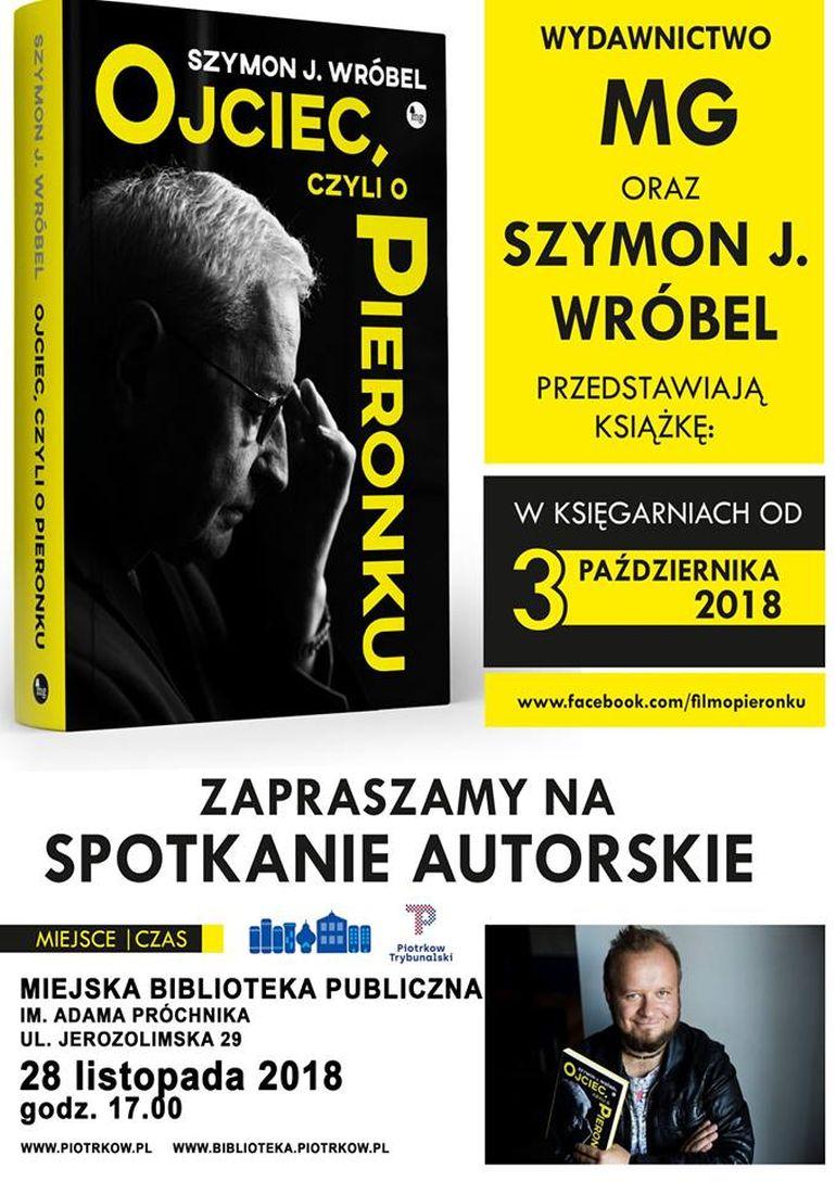 Spotkanie z autorem książki o Pieronku